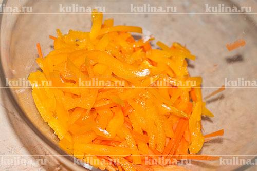 рецепт салат с креветками и фунчозой рецепт с фото