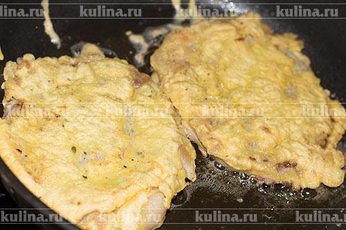 Отбивные без кляра из говядины с фото на сковороде в кляре