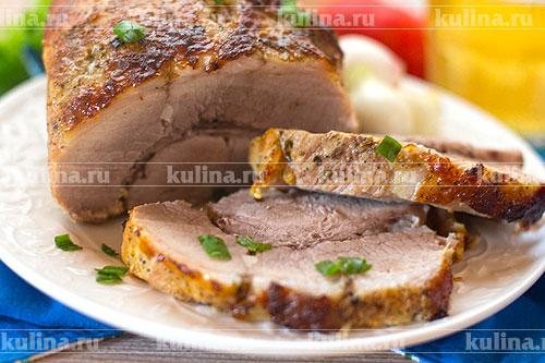 мясо в духовке с маринадом рецепты