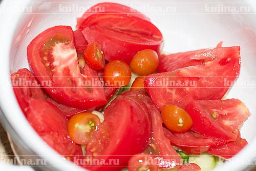 8 рецептов приготовления салата из помидоров и огурцов