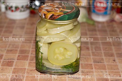 кабачки на зиму рецепты приготовления консервированные