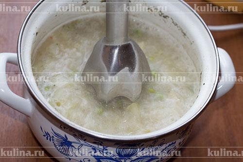 крем суп из кольраби рецепт