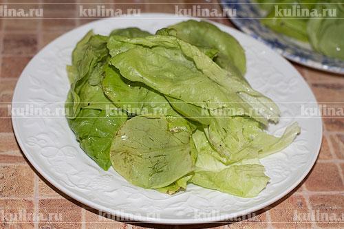салат с гренками и сыром рецепт