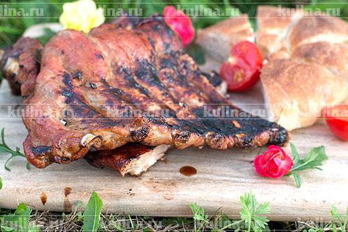 рецепт вкусных ребрышек в духовке фото