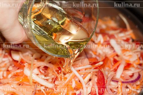 салат на зиму с скумбрией и овощами рецепт