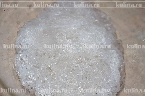 Стеклянная лапша с креветками – рецепт приготовления с фото от