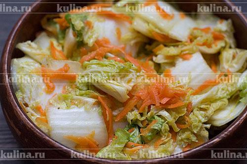 рецепт маринования пекинской капусты