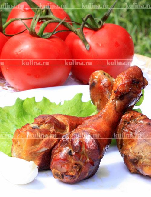 рецепты салатов куриные копченые окорочка