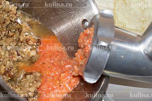 Баклажанная икра через мясорубку рецепт с фото