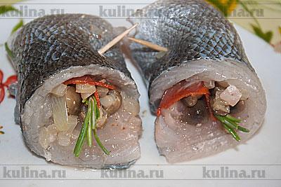 Сибас на мангале рецепт