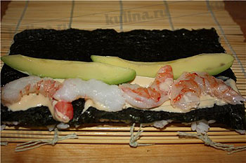 рецепт приготовления суши калифорния в домашних условиях с фото