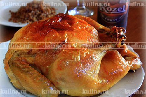 рецепт куриного филе с гречкой в духовке