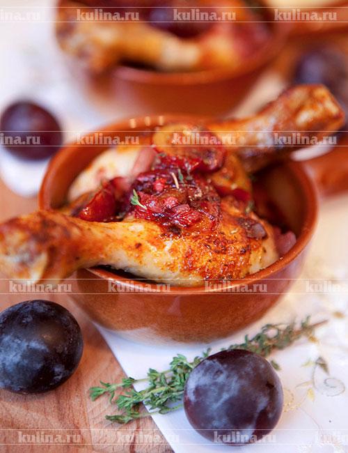 Соус из запеченных слив – кулинарный рецепт