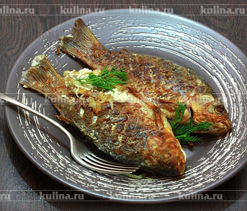 Блюда из карасей рецепты с фото