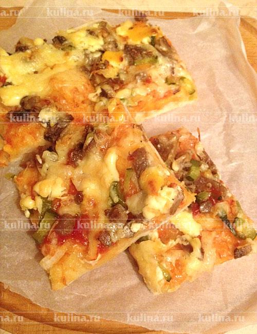 пицца на готовом тесте рецепты с фото