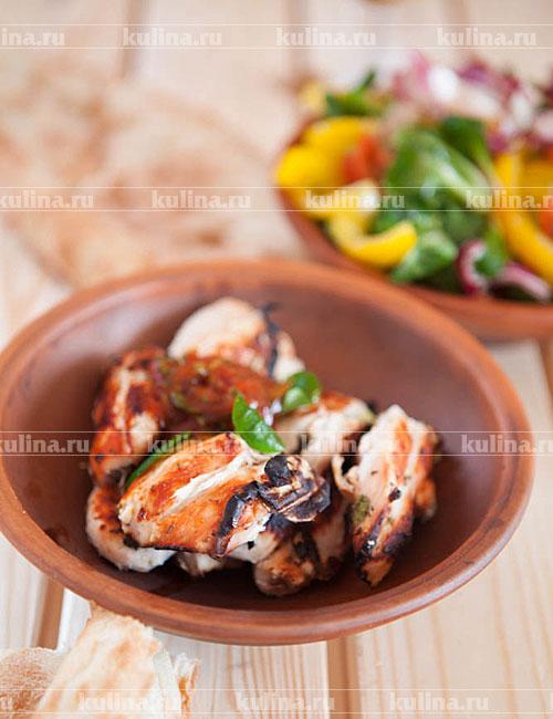 рецепт шашлык из курицы с соевым соусом