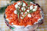 Салат из печени с фасолью – рецепт