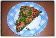 Пицца (Рецепт прислала Татьяна)
