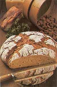 Пикантный сельский хлеб
