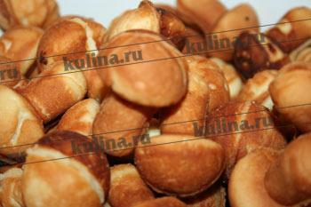 Печенье грибочки на газу рецепты